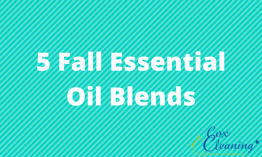 5 Fall Essential Oil Blends