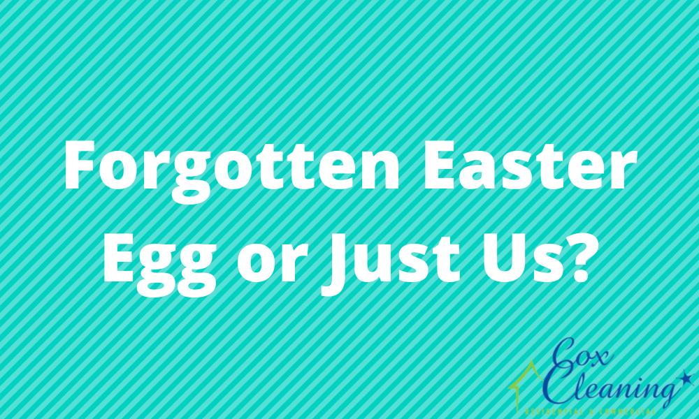 Forgotten Easter Egg or Just Us?