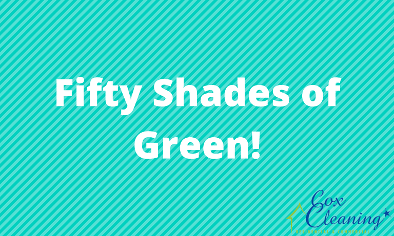 Fifty Shades of Green!